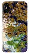 The Street Trees IPhone Case