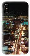 The Strip At Las Vegas,nevada IPhone Case