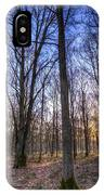 The Sun Ray Forest IPhone Case