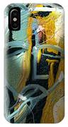 The Synaptic Gap IPhone Case