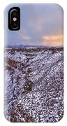 The Taos Gorge IPhone Case
