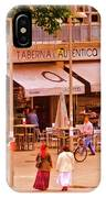 The Tavern On The Plaza - Spain IPhone Case