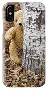 The Teddy Bear In The Woods IPhone X Case
