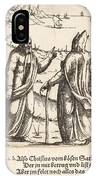 The Temptation Of Christ IPhone Case