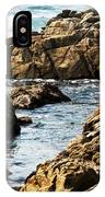 The Tide Rushes In IPhone Case