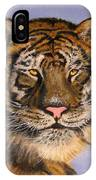 The Tiger, 16x20, Oil, '08 IPhone Case