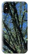 The Top A Glowing Tree IPhone Case