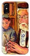 The Torah Scribe IPhone Case