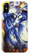 The Tower Of Blue Horses 1913 IPhone Case