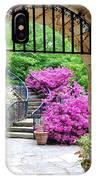 The Tower's Garden Door IPhone Case