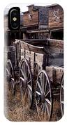 The Town Of Cody Wyoming IPhone Case