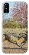 The Track - Thoroughbred Park - Lexington Kentucky Usa IPhone Case