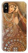 The Traditional Lady IPhone Case