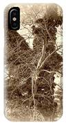 The Tree - Sepia IPhone Case