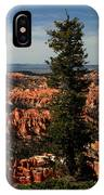 The Tree In Bryce Canyon IPhone Case
