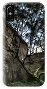 The Tree In The Fort - L'albero Tra Le Mura Del Forte Paint IPhone Case
