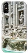 The Trevi Fountain In The City Of Rome IPhone Case
