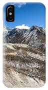 The Valley Leading To Mt Everest In Nepal IPhone Case