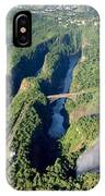 The Vic Falls Gorge IPhone Case