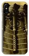 The Vintage Sniper Rifle Range IPhone Case