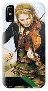 The Violinist IPhone Case