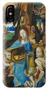 The Virgin Of The Rocks IPhone Case