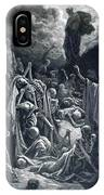 The Vision Of The Valley Of Dry Bones 1866 IPhone Case