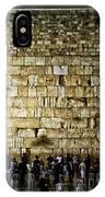 The Wailing Wall - Jerusalem  IPhone Case