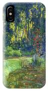 The Water-lily Pond At Giverny  IPhone Case