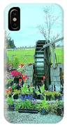 The Water Wheel IPhone Case