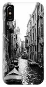 The Waterways Of Venice IPhone Case