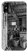 The Way We Were - The Blacksmith 2 Bw IPhone Case