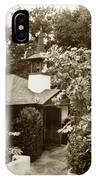 The Wedding Chapel Carmel  Highlands Inn Circa 1968 IPhone Case