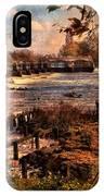 The Weir At Teddington IPhone Case