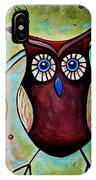 The Whimsical Owl IPhone Case