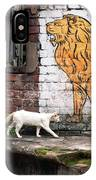 The White Cat IPhone Case