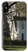The White Church IPhone Case