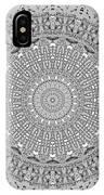 The White Mandala No. 4 IPhone Case