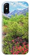 The Wildflowers Of Lundy Canyon IPhone Case