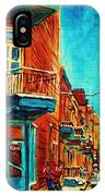 The Wilensky Doorway IPhone Case