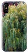 The Willows Of Central Park IPhone Case