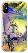The Windmills Del Quixote 02 IPhone Case