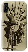 The Windmills Of My Mind IPhone Case