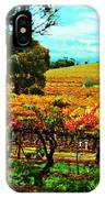 The Winemakers Residence IPhone Case