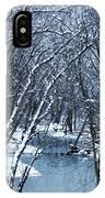 The Winter Stream  IPhone X Case