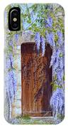 The Wisteria Gate IPhone Case