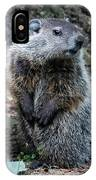 The Woodchuck Has To Pee IPhone Case