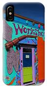 The Workshop-vertical IPhone Case