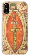 The Wounds Of Christ With The Symbols Of The Passion IPhone Case