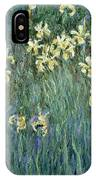 The Yellow Irises IPhone X Case